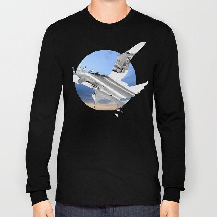 Bomber Bird · Stahlgewitter 4c Long Sleeve T-shirt