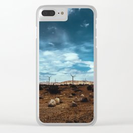 Wind Energy Clear iPhone Case
