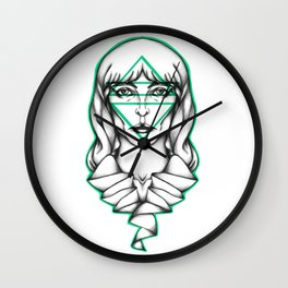 Flo. Wall Clock