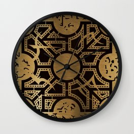 Lament Configuration Side D Wall Clock