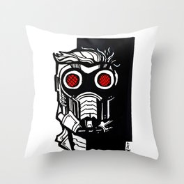 """STARLORD"" Throw Pillow"