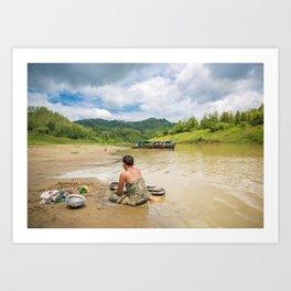 Bandarban Art Print