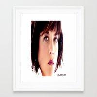 blair waldorf Framed Art Prints featuring Selma Blair by seamaulastore