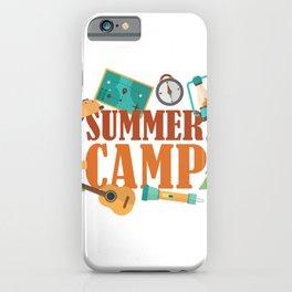 Summer camp award iPhone Case