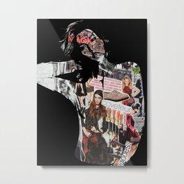Karlie Collage Metal Print