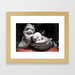 Chinese hand crafts Framed Art Print