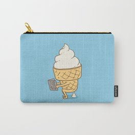 Everyone Poops (Blue) Carry-All Pouch