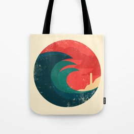 The wild ocean Tote Bag