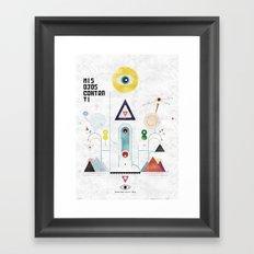 Escapulario Framed Art Print