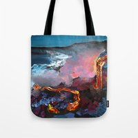 hawaii Tote Bags featuring Hawaii by Dezigns