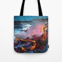 hawaii Tote Bags featuring Hawaii by Desiree Shumovic