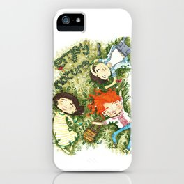 Enjoy nature iPhone Case