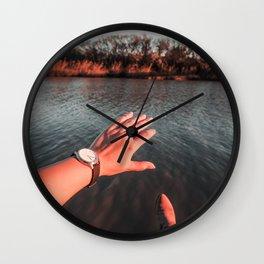 Reaching out - LG Wall Clock