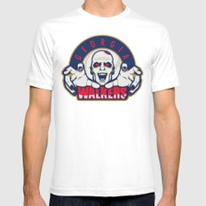 Georgia Walkers SMALL White Mens Fitted Tee