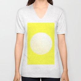 White Ball Unisex V-Neck
