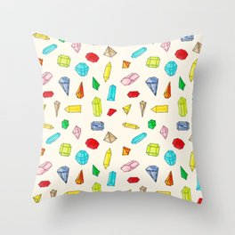 Jewels Throw Pillow