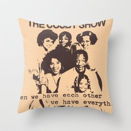 The Cosby Have No Pride Throw Pillow