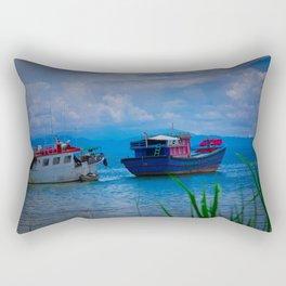 Adjust the Sails Rectangular Pillow