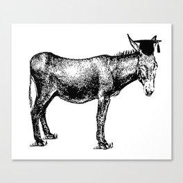 Smart ass Canvas Print