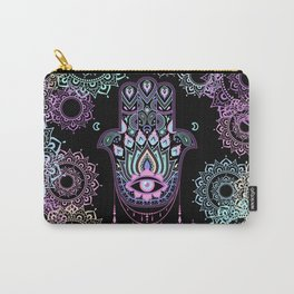 Pastel Hamsa amulet Carry-All Pouch