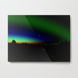 Night Time Aura Metal Print