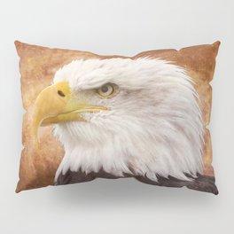 Bald Eagle Portrait Pillow Sham
