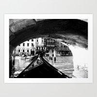 venice Art Prints featuring venice by gzm_guvenc
