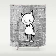 minima - au diable Shower Curtain