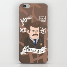why watch (parks and recreaton) iPhone & iPod Skin