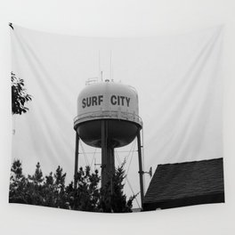 Surf City Wall Tapestry