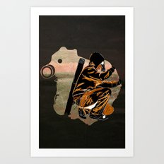 My Dexterous Shadow Art Print