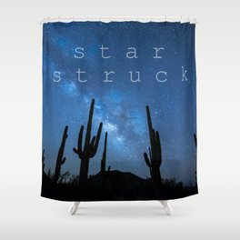 STAR STRUCK Shower Curtain