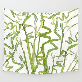 Bamboos Wall Tapestry