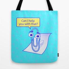 Clippy Tote Bag