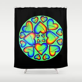Mended Shower Curtain