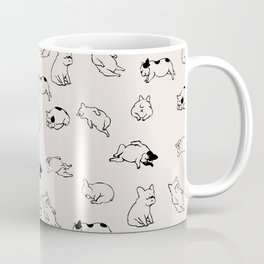 More Sleep Frenchie Coffee Mug