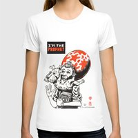 tintin T-shirts featuring I'm the prophet / Tintin and Snowy by remedact