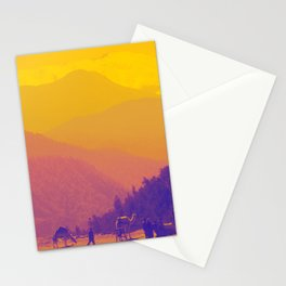 Mountains & Camels Stationery Cards