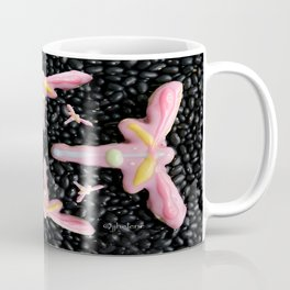 "jjhelene's ""Dragonfly"" Cutout Cookie Design Coffee Mug"