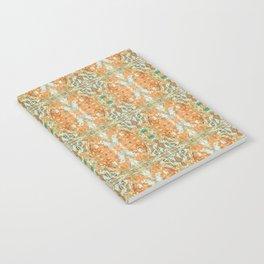 Humming Bird Orange Notebook
