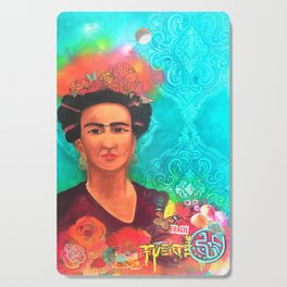 Frida Fragil y fuerte Cutting Board