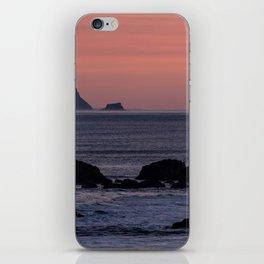Oregon Coast Sunset iPhone Skin