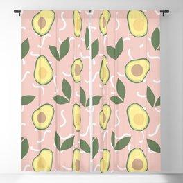 Avocado Fiesta Blackout Curtain