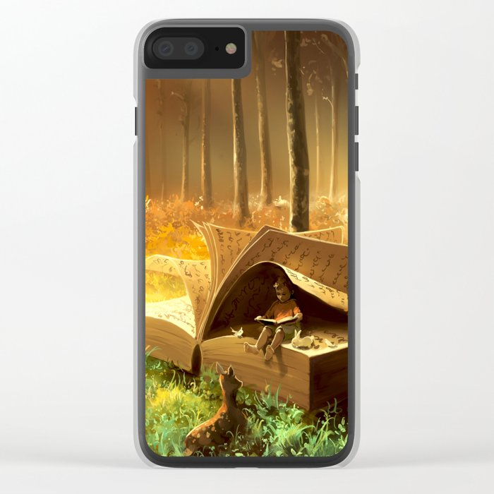 A safe place where you can go Clear iPhone Case