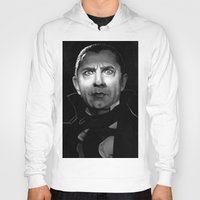 actor Hoodies featuring Bela Lugosi is Dead by Thubakabra