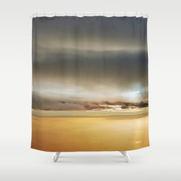 In-between the Clouds III Shower Curtain
