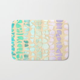 Sea Glass Bath Mat
