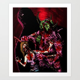 NECROBEAST Art Print