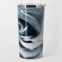Rose - powder blue Travel Mug
