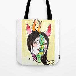 the hell inside my head Tote Bag